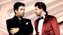 Here's how Shah Rukh Khan and Karan Johar are giving us major BFF goals
