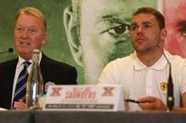 F. Warren: Saunders wants big fights, no matter if it's Golovkin or Canelo