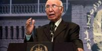 Stop blaming Pak, review fragmented approach to Taliban peace talks: Aziz