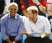 When Harry met Obama
