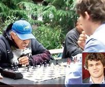 World champ Carlsen goes undercover