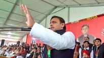 'Son'rise in SP:  EC hands over 'Cycle' symbol to Akhilesh Yadav