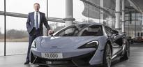 McLaren Automotive sales at near peak level i...