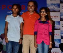 Rahul Bose launches the trailer of Poorna with reel and real Poorna!