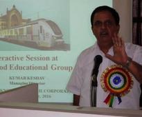 Mr. Keshav Kumar, MD, LMRC addresses a seminar at Sherwood College of Engineering Research & Technology