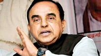 Subramanian Swamy for 're-writing' history in 'Sanskrit'