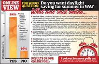 Views mixed on saving daylight (South Western Times)