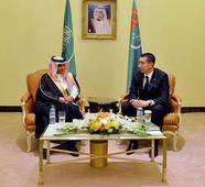Assistant General President of Youth Welfare Meets with Turkmen Sports President
