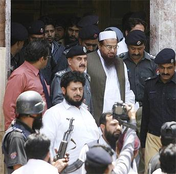 Pak army says Saeed's detention in country's interest