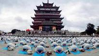 Yoga fever grips China ahead of International Yoga Day
