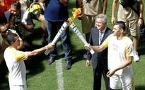 Brazil receives Olympic flame for Rio Games