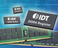 IDT Memory Interface Devices Qualified for DDR4 Enterprise DIMMs on Intel Xeon Processor E5-2600 v4 Product..