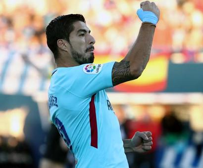 PHOTOS: Suarez inspires Barca, Real and Atletico in derby stalemate