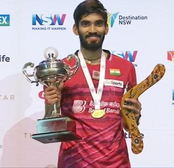 Congratulate Kidambi Srikanth!