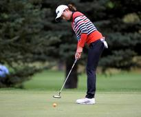 Golf-Korean Choi leads by one at Whistle Bear, Ko four back
