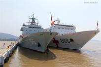 Chinese fleet arrives in Hawaii for RIMPAC 2016 drill