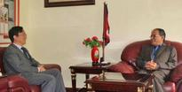 New govt will implement Nepal-China agreements: Dahal to Chinese envoy