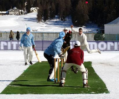 WHAT?!! Cricket on ICE?!!!