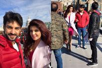 Ihana Dhillon has gala time shooting with Karan Wahi for HATE STORY 4 - News