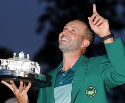 US Masters: Garcia beats Rose to claim Green Jacket