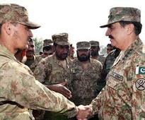 COAS witnesses army maneuver exercise near Jhelum