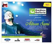 Gardens Galleria all set to host Adnan Sami Live in Concert