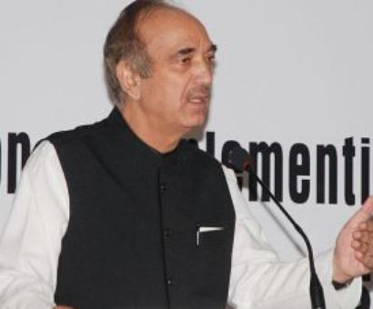 Modi's elevation threat to BJP: Azad