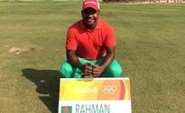 Six bogeys send Bangladesh golfer Siddikur near bottom in first round of Rio Olympics