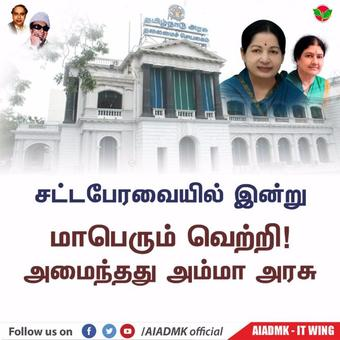 Stable Amma govt established in TN, says Sasikala's camp