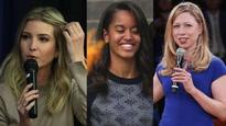 First Daughters' Defence Club: Chelsea and Ivanka come out in support of Malia Obama after kissing video goes viral