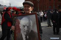 Laying flower ceremony held to mark 146th anniv. of Lenin's birth