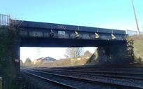 Mardy Road Bridge in Cardiff to be upgraded as electrification of the South Wales Mainline continues