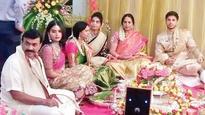 Janardhana's daughter gets engaged