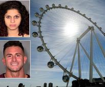 Couple Caught on Video Allegedly Having Sex in Vegas Ferris Wheel Charged with Felony