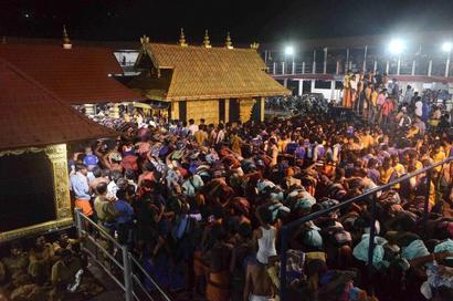 SC reserves order on referring Sabarimala temple entry row to Constitution Bench