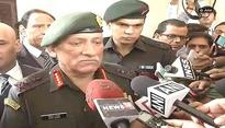 Appointment of Kashmir interlocutor won't impact operations in Valley: Army Chief Bipin Rawat