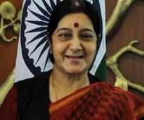 Kashmir an integral part of India: Sushma at UN