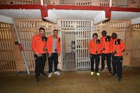Liverpool players visit infamous Alcatraz prison after beginning pre-season tour in California