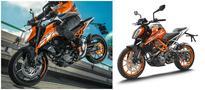 2017 KTM Duke 390 and Duke 200 launch soon!