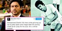 Shah Rukh Khan remembers late Mohammad Shahid and his connection with Chak De! India