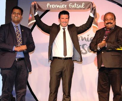 No official recognition for Luis Figo's Premier Futsal, says AIFF