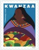 Kwanzaa Forever Stamp Dedicated Today