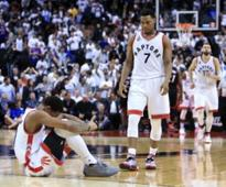 Kyle Lowry's prayer forces OT, but Heat recover to take Game 1