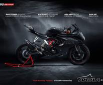 TVS Akula 310 (Apache 300) teased by company on Twitter ahead of launch