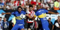 Title out of reach as Boca face River in Superclasico