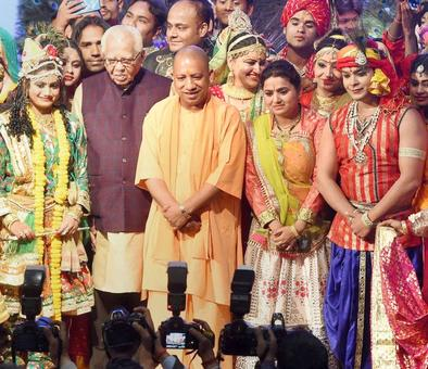 Yogi launches anti-graft portal, announces 4 lakh jobs as his govt completes one year in office
