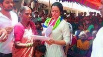 Wife visits adopted village on behalf of Mahesh Babu