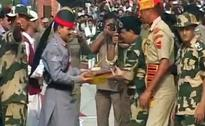 Pak Violates Ceasefire At Line of Control, Offers Sweets At Wagah Border