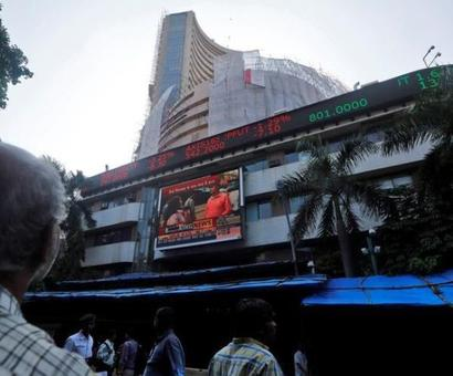 Sensex snaps 3-day losing spell; gains 141 points at close