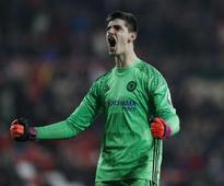 Premier League: Chelsea 'solid at the back', and hence surging, says Thibaut Courtois